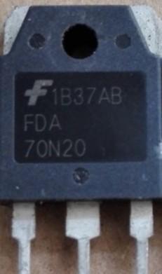 [二手拆機][含稅]原裝拆機 FDA70N20 測試拆機好發貨 品質保證