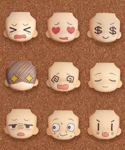 【斗六小學館 07/29前預購】《免訂金》GSC 代理版 黏土人配件系列 替換用臉部表情01&02 精選款 中盒9入
