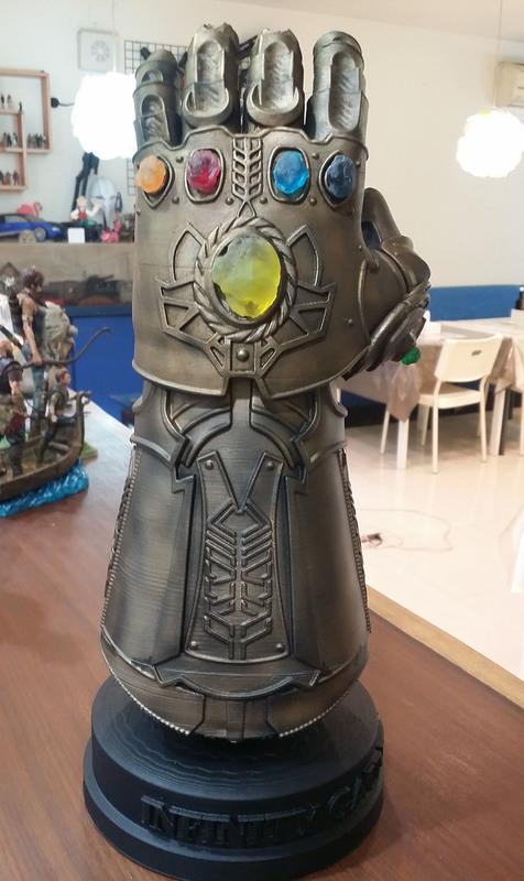 [Roadies]電影「復仇者聯盟3」的 Infinity Gauntlet,3D列印模型