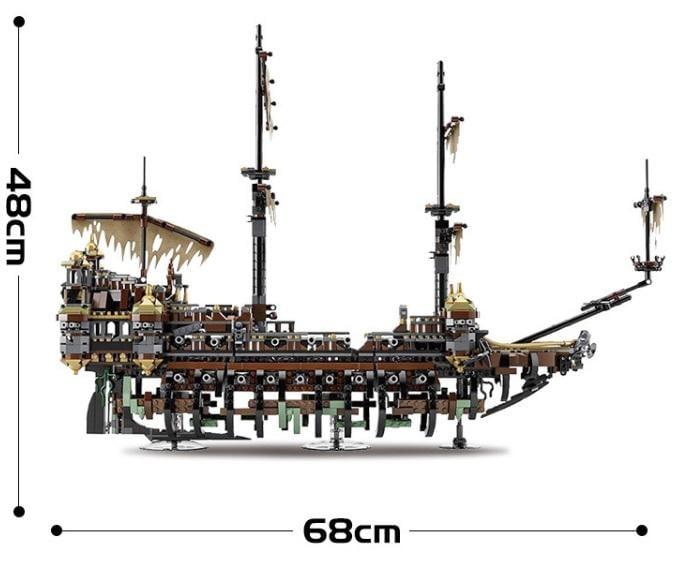 *樵夫遊樂園* SY1200 (現貨)  沉默瑪麗號 神鬼奇航 海盜船 加勒比海 非 樂高 LEGO 樂拼 16042