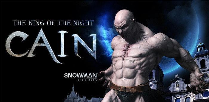 ★夏斯汀★ (最後2隻 現貨代購) CAIN 吸血鬼 該隱The king of the night 1/4雕像