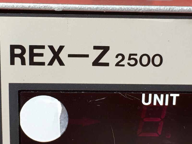 RKC REX-Z2500 TEMPERATURE CONTROLLER