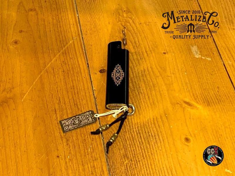 《美式工廠》METALIZE Cricket /黃銅打火機套-日本 opus two聯名限定 黒