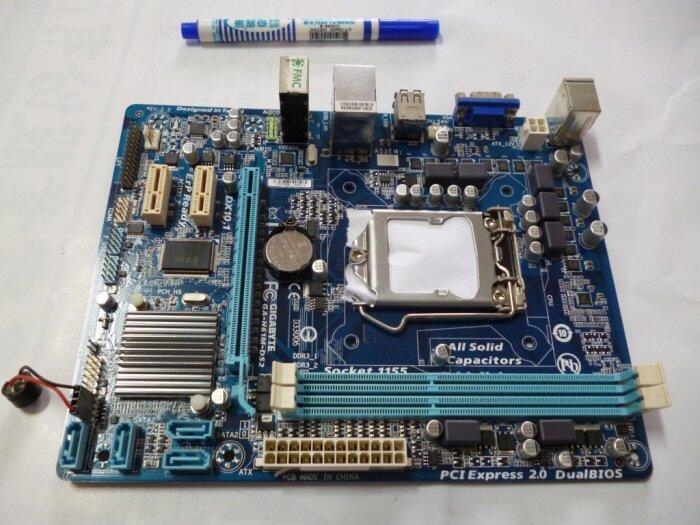 ((台中市)技嘉主機板GA-H61M-DS2