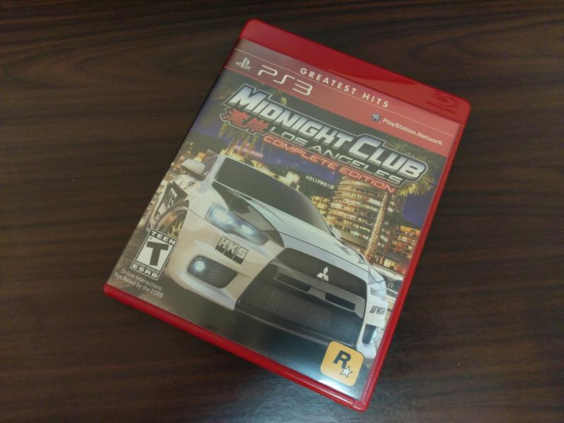 PS3 灣岸 洛杉磯 MIDNIGHT CLUB Los Angeles 完全版 英文版 Rockstar作品