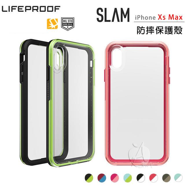 新款【A Shop】LifeProof SLAM for iPhone Xs Max 6.5吋 雙色防摔殼