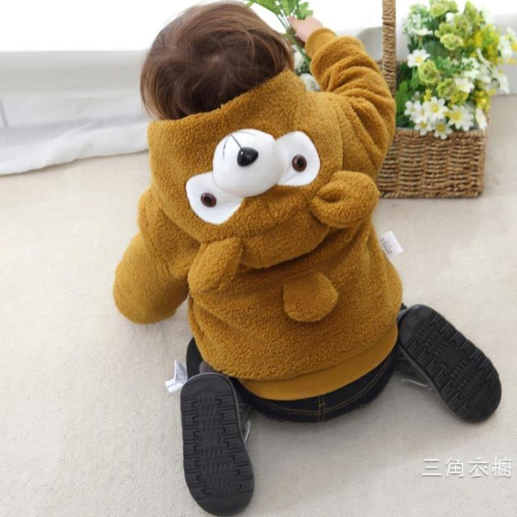 寶寶秋冬裝外套5男童上衣2嬰兒0小孩衣服兒童裝1-3周歲韓版潮衣冬