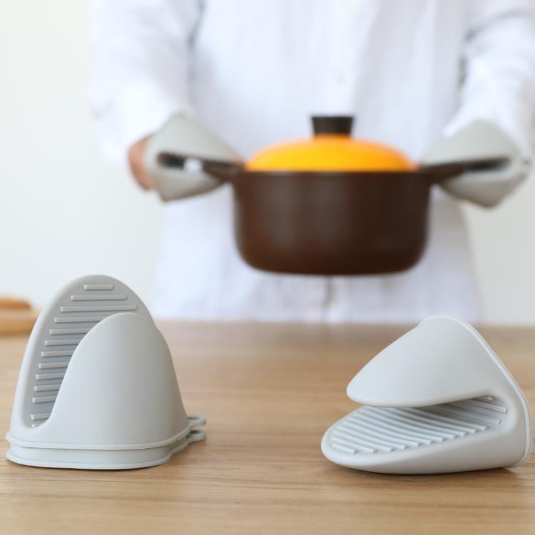 矽膠手套廚房防燙取盤夾微波爐隔熱套隔熱防滑加厚款  熱銷