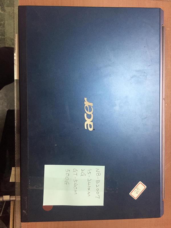 【冠丞】宏碁 ACER 3830TG 13.3吋 i5-2410m 2G 500G 筆電 筆記型電腦 NB-160
