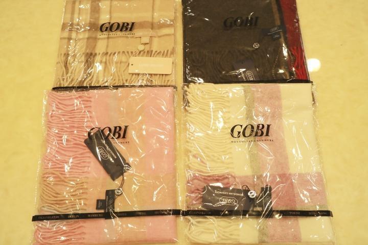 加長加厚款 名牌GOBI 100%喀什米爾純羊毛披肩圍巾 精美禮盒 尾牙過年送禮