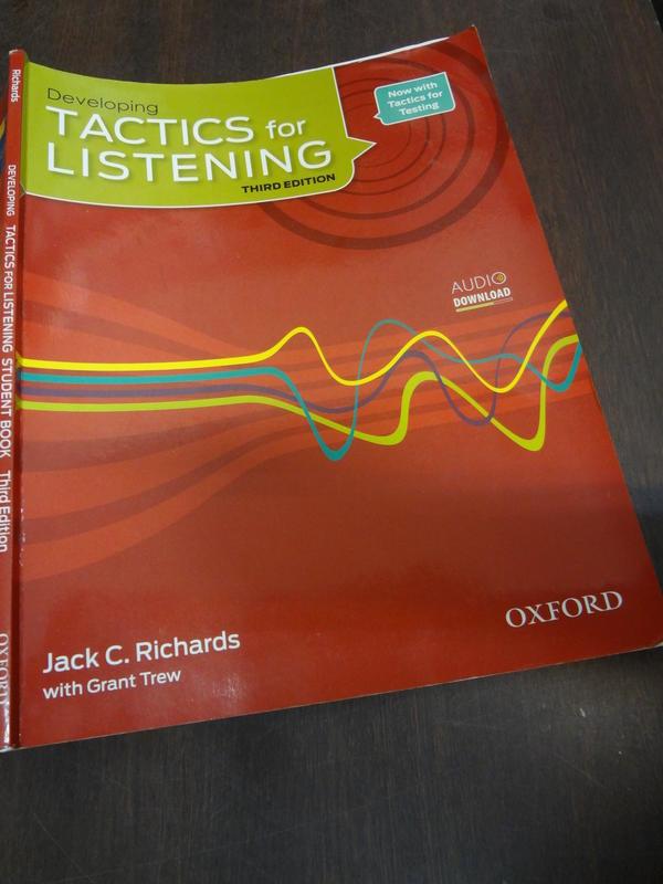 【軼田書集】《Tactics for Listening: Student 3/e》9780194013857
