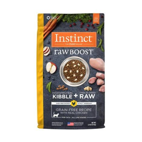 今日免運  原點 Instinct 全貓配方 雞肉凍乾 4.5公斤 (貓飼料)