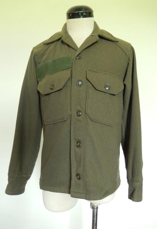 美軍 M1951 羊毛 野戰 襯衫 韓戰 (軍裝 古著 外套 復古 軍服 vintage