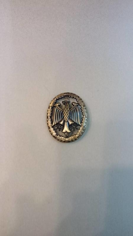 德軍 德國聯邦軍 胸章 老鷹胸章 (公發品)
