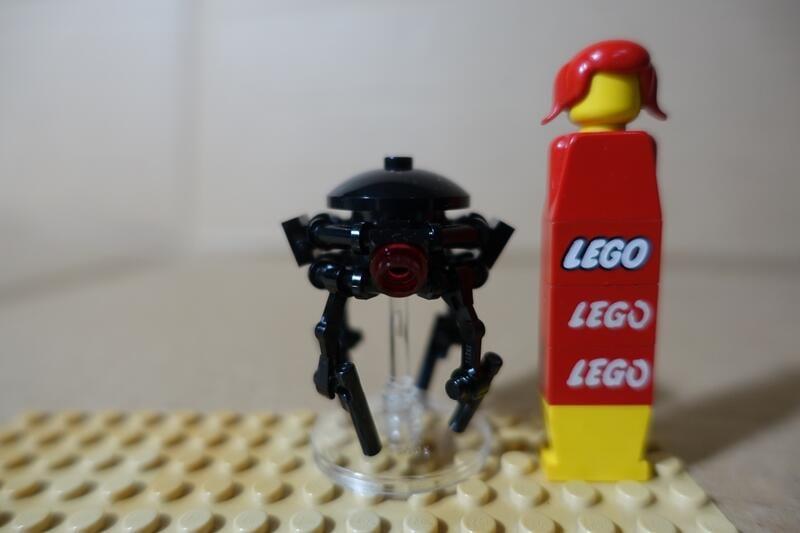 樂高 LEGO 75138 星戰 星際大戰 探測機器人 中古品 如圖