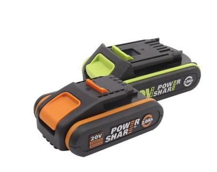 WORX 威克士 20V鋰電 2.0Ah 2.5Ah 4.0Ah 5.0Ah 橘 綠(大腳板)