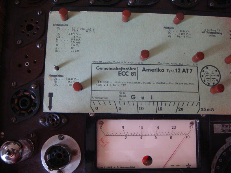 【Ro-Co Tube】真空管: 德國 Telefunken ECC81/12AT7 真空管 ( 一支 )#3