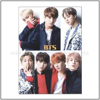 【 明星事務所 】韓國進口 防彈少年團 BTS 正韓版 12張大尺寸海報 + 大尺寸貼紙組
