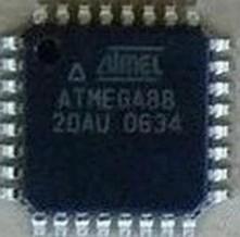 [二手拆機][含稅]ATMEGA88-20AU 貼片單片機IC晶片
