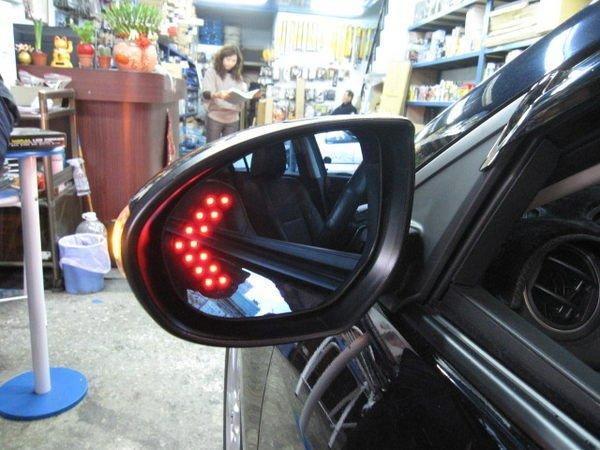 (柚子車舖) PEUGEOT 標誌 2007~ 308 LED方向燈照後鏡片(專用卡榫式鏡座)台灣製造
