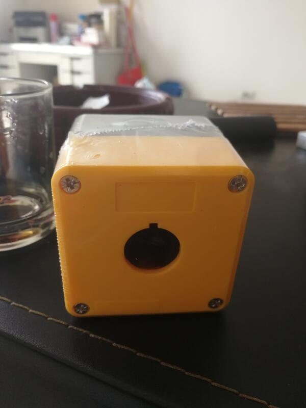 單孔22@ 塑膠盒 按鈕開關盒