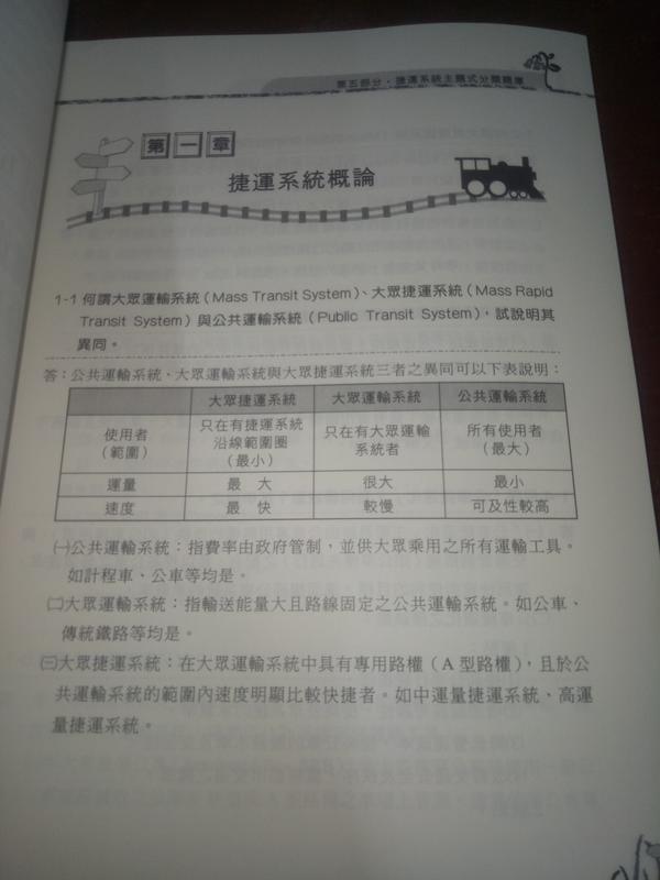 【捷運概述】鼎文/許博士、羅吉特、胡劭安