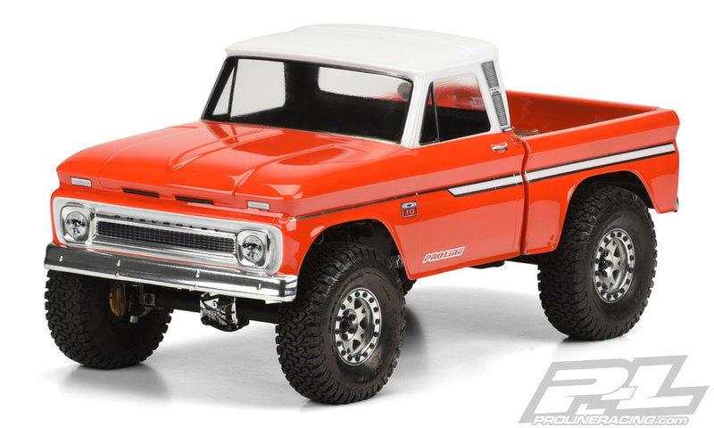 港都RC Pro-Line 1966 Chevrolet C-10 透明車殼/攀岩車 313mm(3483-00)