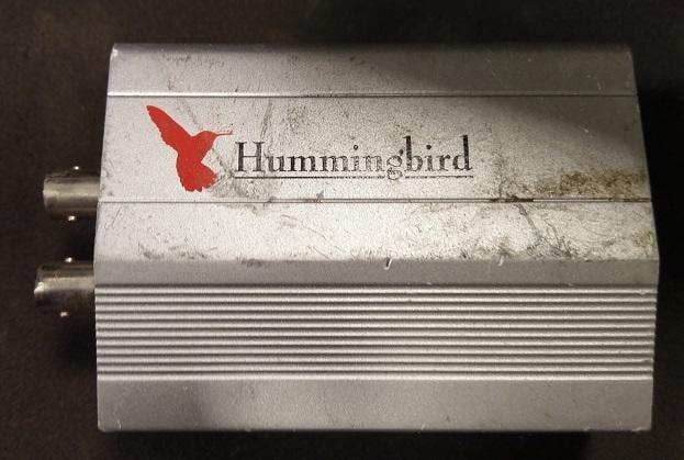 二手HUMMINGBIRD RS-485(上電有反應當測試報帳零件品)