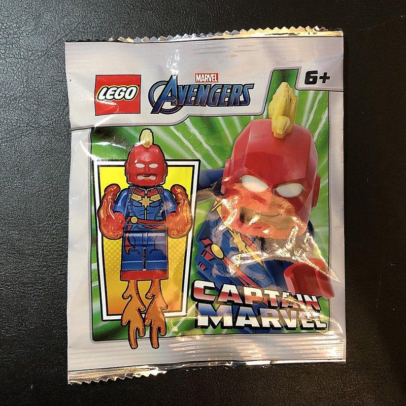 「樂高 軍團」LEGO Marvel 復仇者聯盟 驚奇隊長 242003 76153 鋁箔限定包 SH641