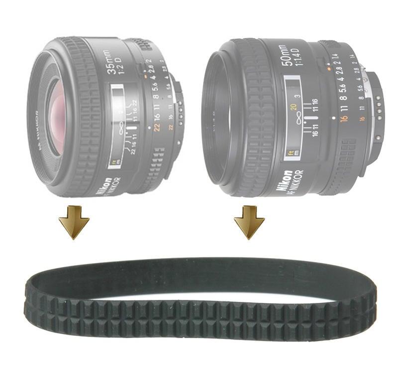 【NRC】Focus Rubber Ring for Nikon 35mm F2D , 50mm F1.4D 對焦皮