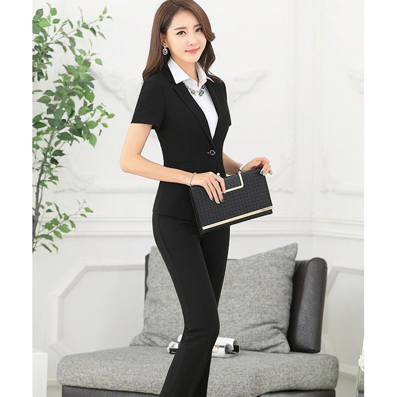 2017女裝新款韓版職業套裝夏季半身裙辦公套裝職業OL服裝正裝西裝