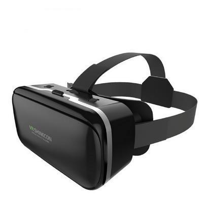 【可開發票】shinecon新款VR頭帶支持蘋果安卓手機3D眼鏡360度全景電影院游戲—聚優購物網