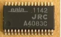 [二手拆機][含稅]拆機二手原裝進口 NJW1142M JRC 貼片 S1