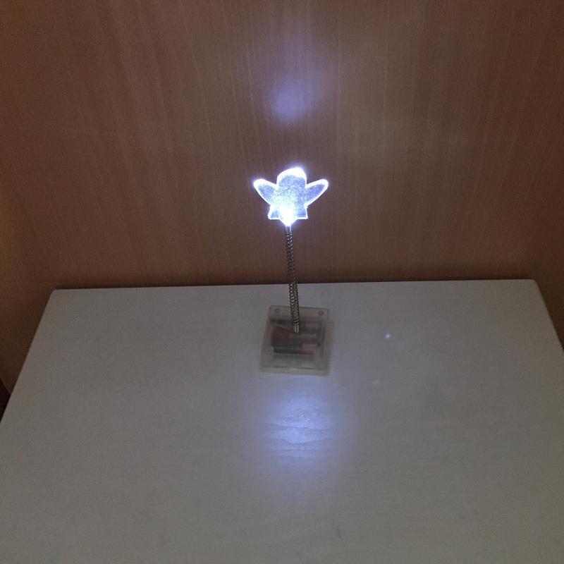 ♣♧庫克洛奇♣♧ ikea GLANSA 裝飾燈 擺設燈 氣氛 氛圍 LED 星 心 小夜燈 白光 造型 桌燈 演唱會