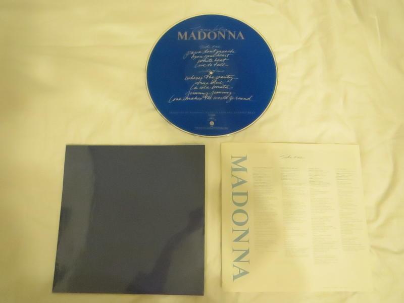 True Blue / Madonna 限量收藏版一套