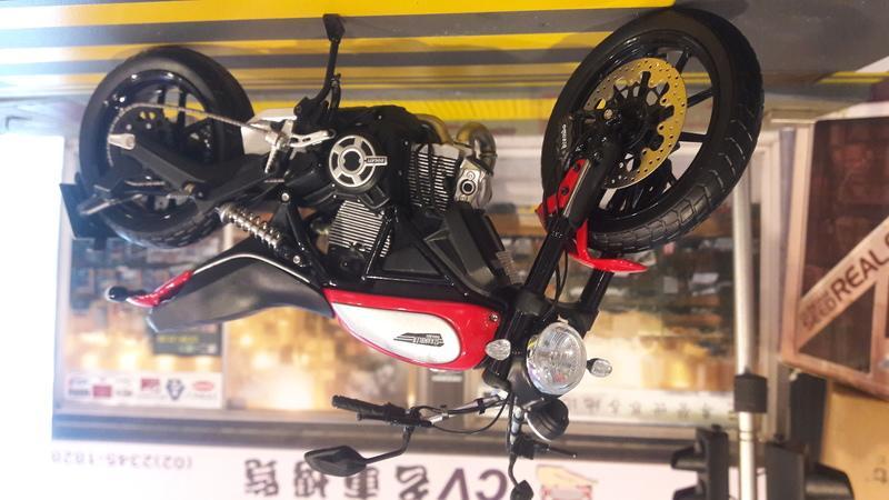 【CV名車博覽】1/12 TSM Ducati Scrambler