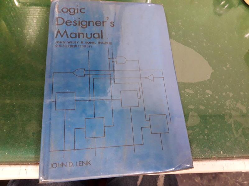 邏輯設計師手冊 Logic designer's manual 泛黃 無劃記37W