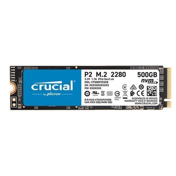 【康畢特電腦】美光 Micron Crucial P2 500GB ( PCIe M.2 ) SSD