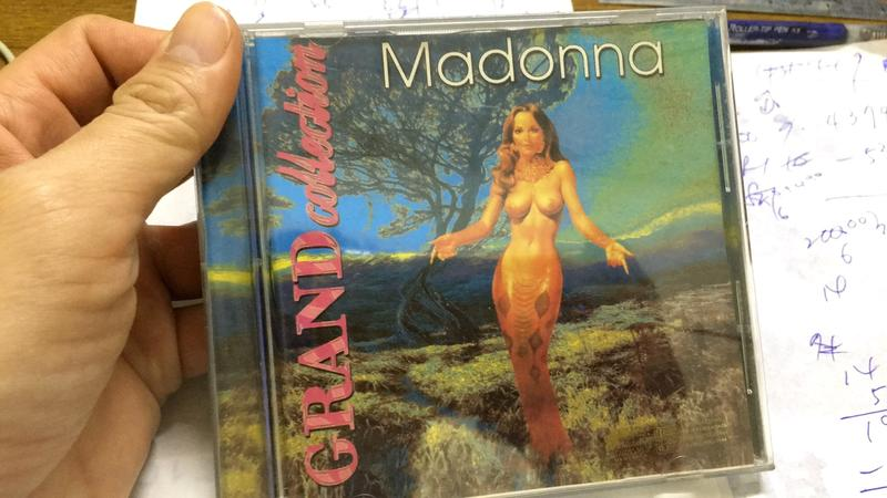 MADONNA 麥當娜  grand collection CD 專輯 Y15