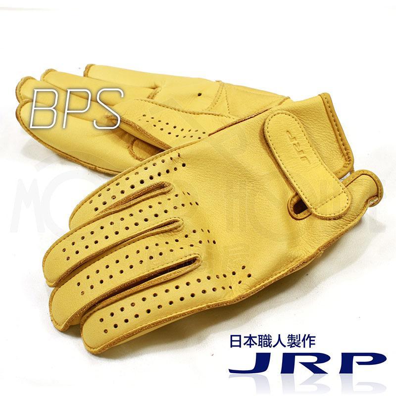 。摩崎屋。 日本香川縣 JRP BPS 棕褐色 夏季 可水洗皮革手套 日本製造 經典外縫式剪裁 免運