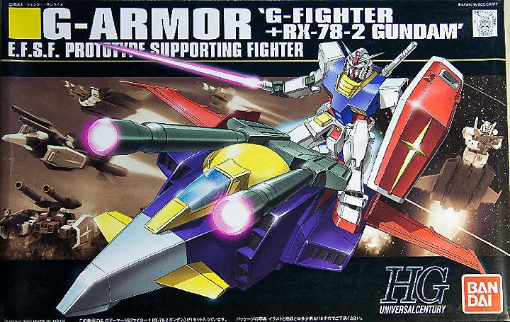 《密斯特喬》萬代 BANDAI HGUC#50 1/144 G-ARMOR RX-78-2+G-FIGHTER <特價>