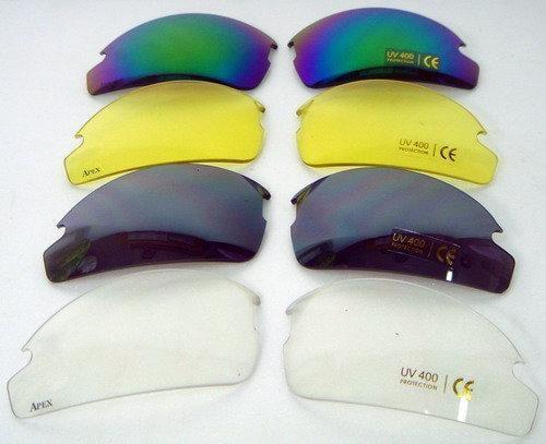 APEX 908 運動眼鏡專用強化PC鏡片 共有5種顏色 (單買鏡片不含鏡框)