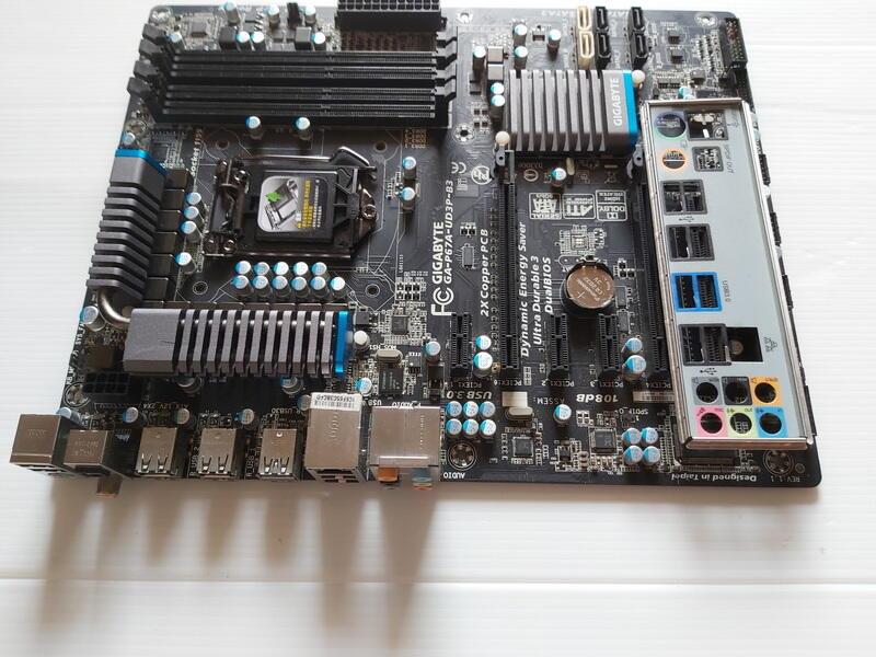 技嘉GA-P67A-UD3P-B3主機板+Win 10專業版