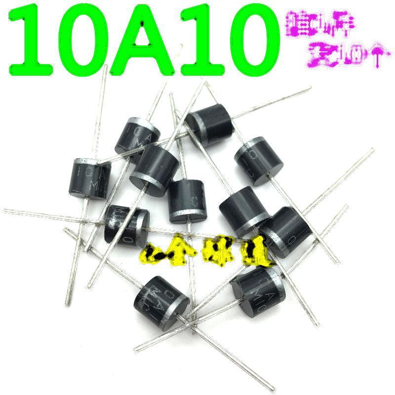 【拍1件發10個】全新原裝 二極體 10A10 整流二極體 10A/1000V 155-02058
