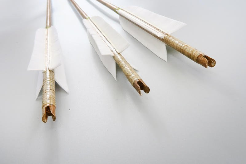 【弓城弓箭館】Umin 特級四羽竹箭 無名製弓 特級真羽竹箭 四羽箭 羽毛箭 花刀翎羽箭 傳統箭  騎射 真羽箭