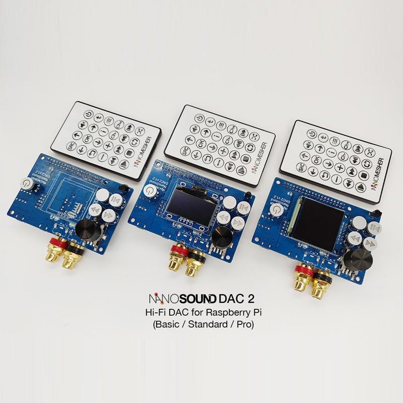『樹莓派Raspberry pi』NanoSound DAC 2 Basic音效卡