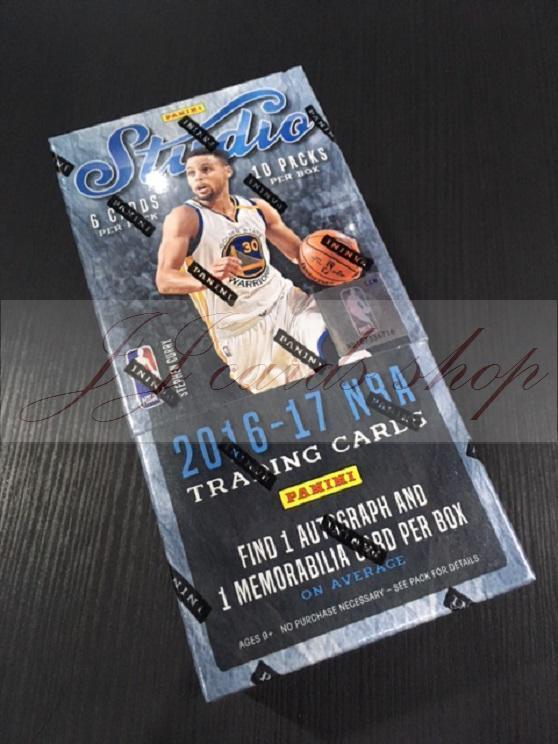 【☆ JJ卡舖 ☆】NBA 2016-17 Panini Studio Basketball 籃球卡 卡盒