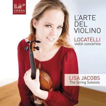 {古典}(Cobra) Lisa Jacobs / Locatelli 小提琴的藝術 Op.3 清晰透明 出色非常