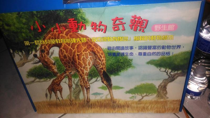 小小動物奇觀 野生版 大本書共5本