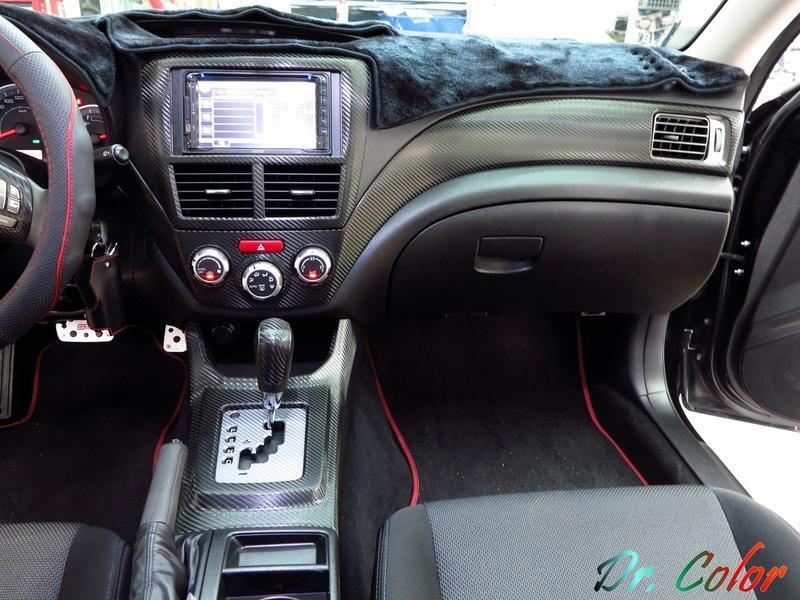 Dr. Color 玩色專業汽車包膜 Subaru Impreza 4D 內裝飾板包膜
